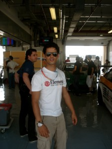Chaker at Yas Marina Circuit